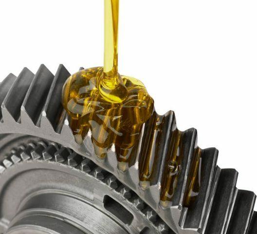 lubrication of gear wheel