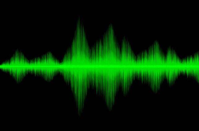 vibration monitoring graph